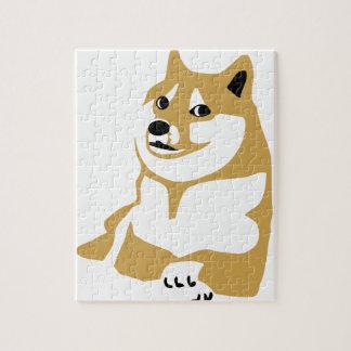 Doge - internet meme puzzle
