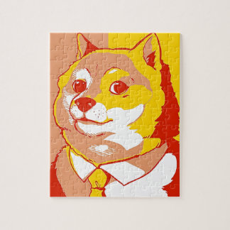 DOGE MEME COLORFUL JIGSAW PUZZLES