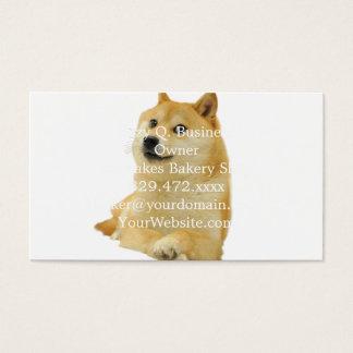 doge meme - doge-shibe-doge dog-cute doge business card