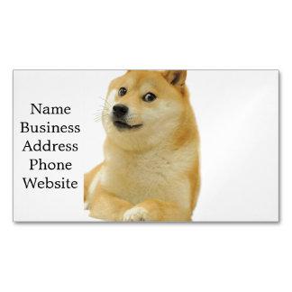 doge meme - doge-shibe-doge dog-cute doge business card magnet