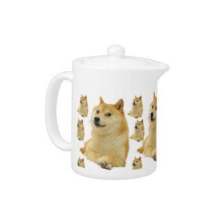 doge meme - doge-shibe-doge dog-cute doge teapot