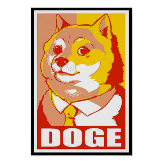 DOGE MEME POSTER