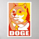 DOGE MEME POSTERS