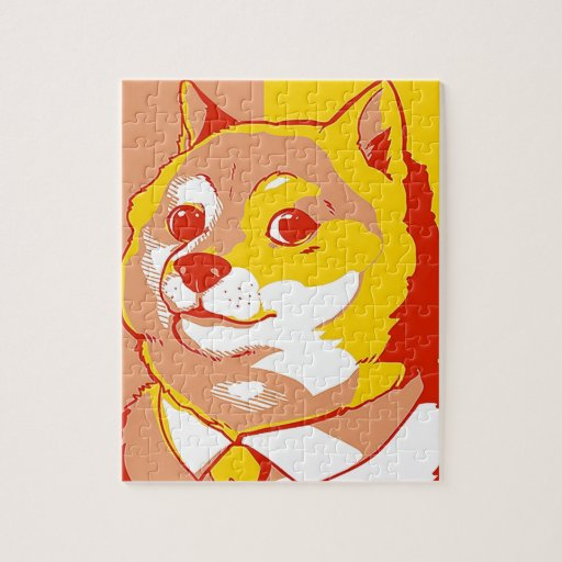 DOGE MEME JIGSAW PUZZLES