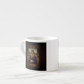Doge Mona Lisa Fine Art Shibe Meme Painting 6 Oz Ceramic Espresso Cup
