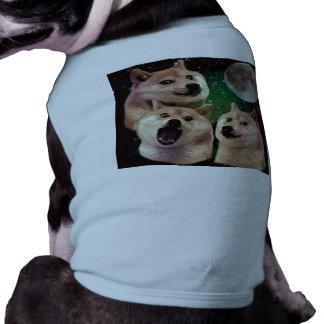Doge moon - doge space - dog - doge - shibe shirt