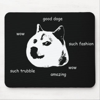 Doge Mouse Pad