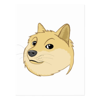 Doge Postcard