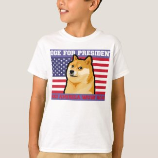 Doge president - doge-shibe-doge dog-cute doge T-Shirt
