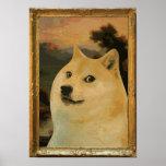 Doge Regal Poster