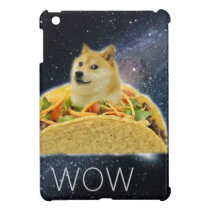 doge space taco meme iPad mini case