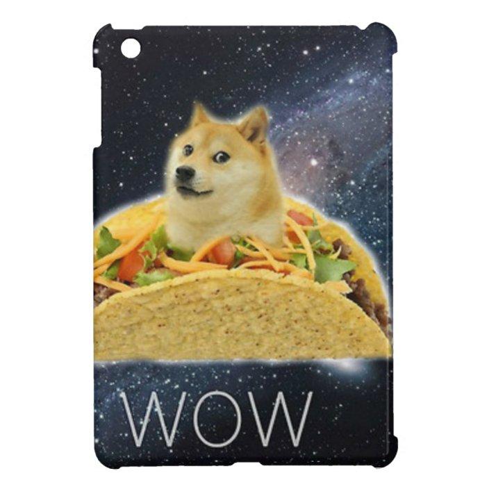 Doge Space Taco Meme Ipad Mini Case Zazzle Com