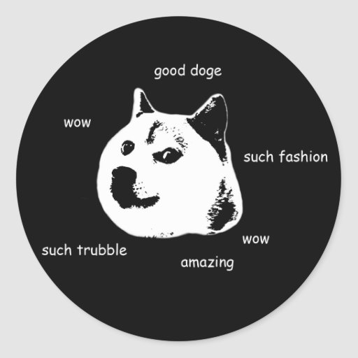 Doge Stickers