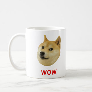 Doge Very Wow Much Dog Such Shiba Shibe Inu Classic White Coffee Mug