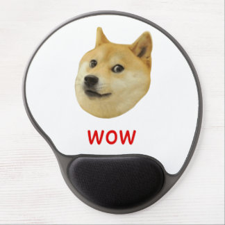 Doge Very Wow Much Dog Such Shiba Shibe Inu Gel Mouse Pad