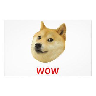 Doge Very Wow Much Dog Such Shiba Shibe Inu Stationery