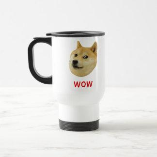 Doge Very Wow Much Dog Such Shiba Shibe Inu Travel Mug