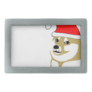 doge wow meme very xmas such hat many santa rectangular belt buckles