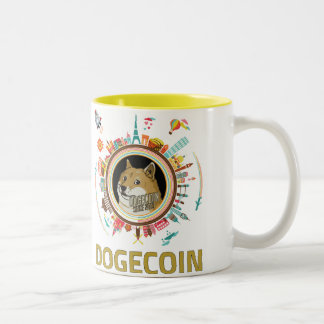 Dogecoin Around the World Mug