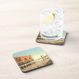 Doge's Palace and the Piazzetta, Venice, Italy Drink Coaster