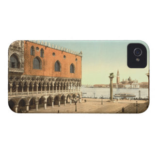 Doge's Palace and the Piazzetta, Venice, Italy iPhone 4 Cover