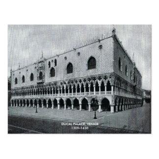 Doges Palace, DUCAL PALACE, VENICE1309-1438 Postcard