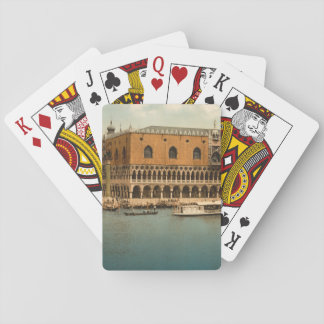 Doge's Palace I, Venice, Italy Playing Cards