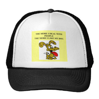 dogf are better than people trucker hat