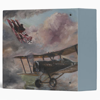 Dogfight 1917 3 ring binder