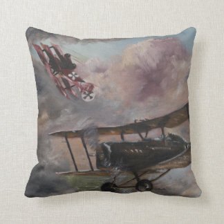 Dogfight 1917 throw pillow