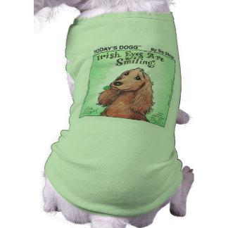 DOGG DE HOY - Camiseta del perrito del día de St P Playera Sin Mangas Para Perro