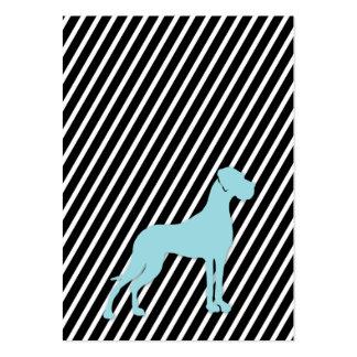 Doggen alemanes tarjetas de presentación tarjetas de visita grandes