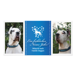 Doggen photo maps with message card