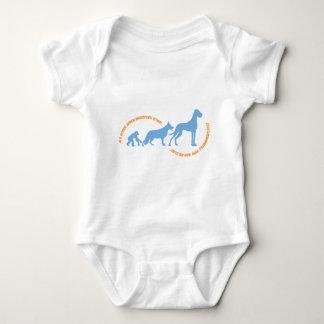Doggen school baby bodysuit