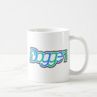 Doggen Text mit Kopf Classic White Coffee Mug