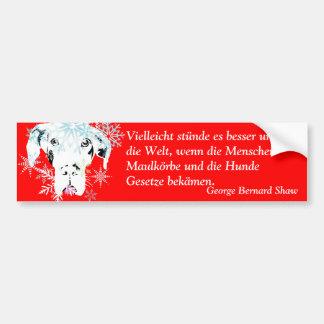 Doggenhaus Bumper Sticker