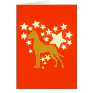 Doggenkarte Felicitacion