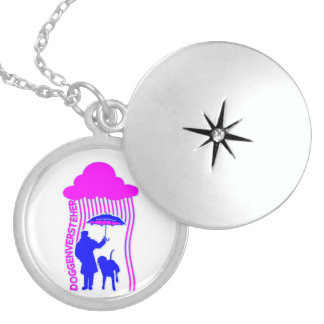 Doggenversteher Round Locket Necklace