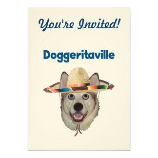 Doggeritaville Dog Hat Card