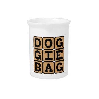 Doggie Bag, Restaurant Leftovers Beverage Pitcher