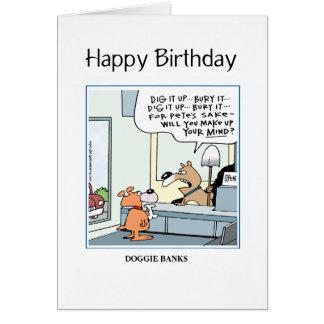 Doggie Banks card