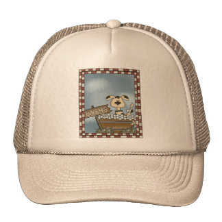 Doggie Bath Trucker Hat