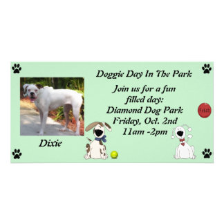 Doggie Date Invitations