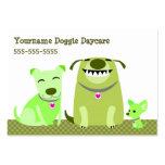 Doggie Daycare/Dog Walker Business Cards