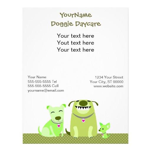 Doggie Daycare/Dog Walker Promotional Flyer
