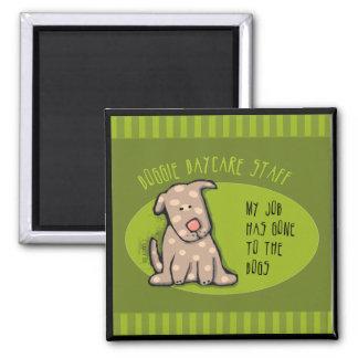 Doggie Daycare Staff Refrigerator Magnets