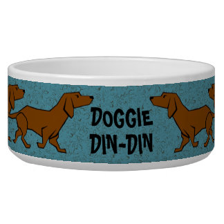 DOGGIE DIN-DIN Pet Bowl