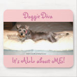 Doggie Diva Mouse Pad