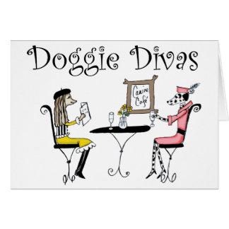 Doggie Divas Card