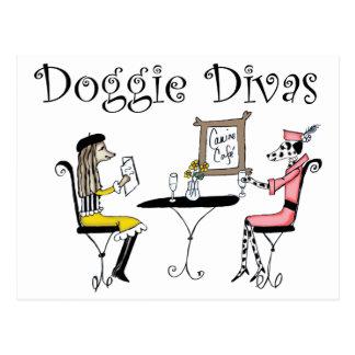 Doggie Divas Postcard